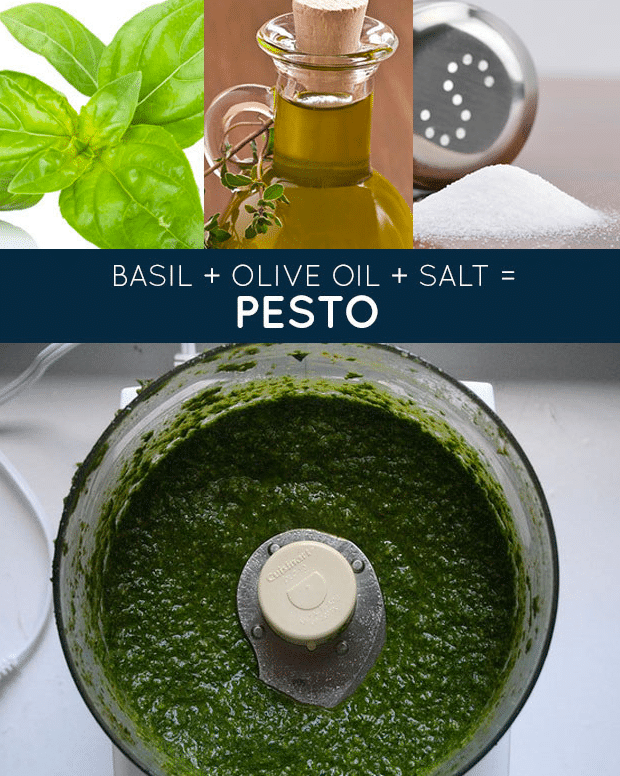 fresh pesto recipe